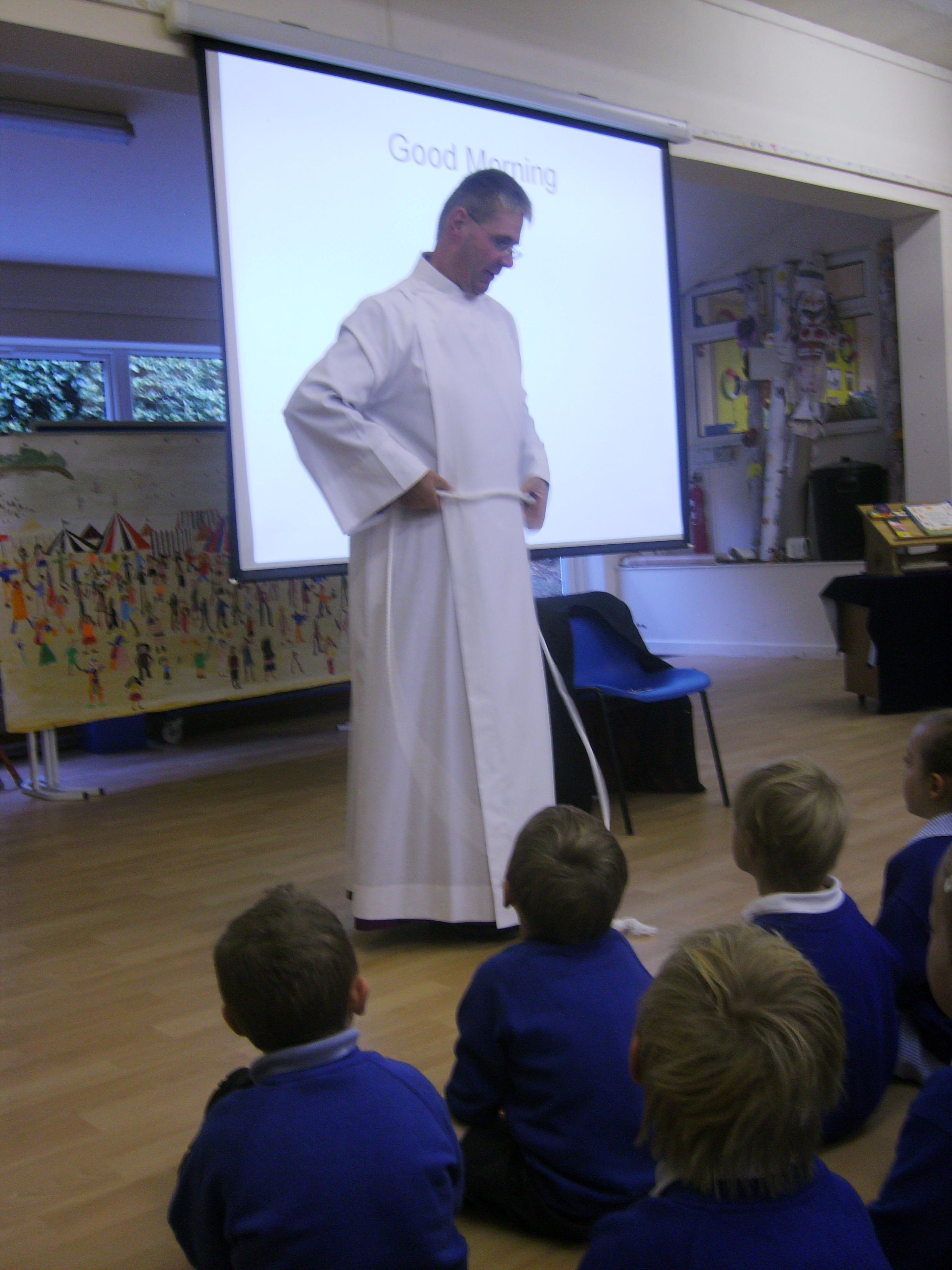 Bishop John Visiting
