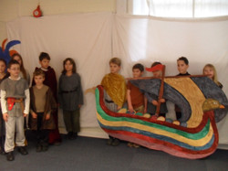 Bayeux Tapestry Filming