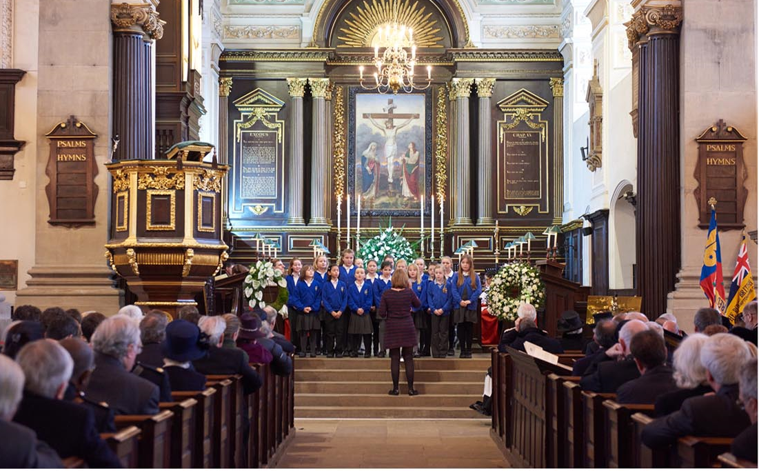 Choir at All Saints Church