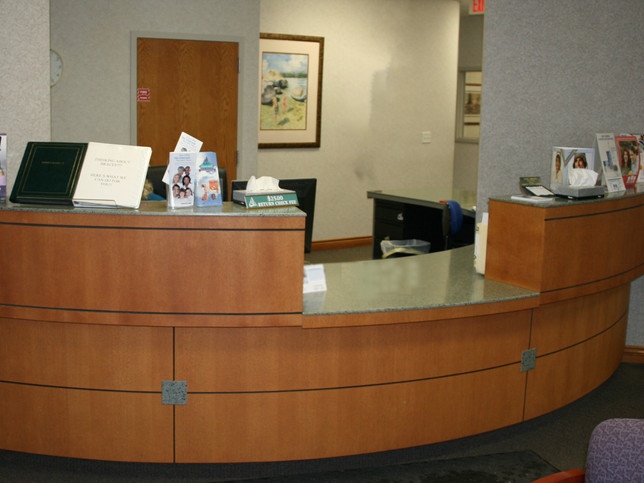 Dental Reception Counter