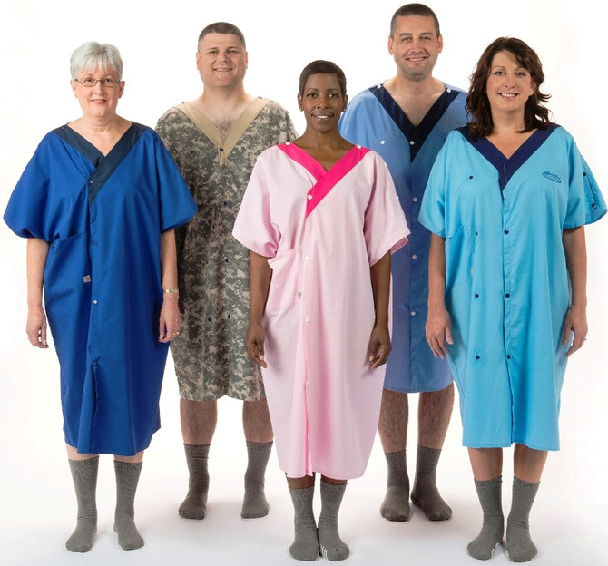 Henry Ford Health System shipping 35,000 new Carhartt-made, rear-end-covering hospital gowns