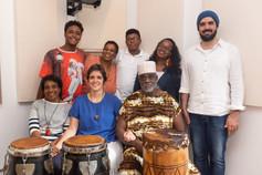 Show e gravação com Alessa Leão