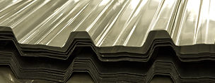Fibreglass and polycarbonate sheets