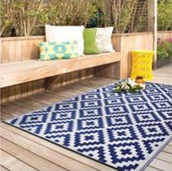 Carpet blue outdoor indoor