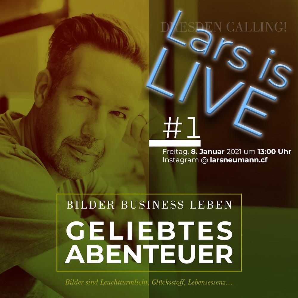Lars Neumanns IGTV Serie »GELIEBTES ABENTEUER«