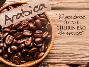 O prazer de beber um café 100% arábica