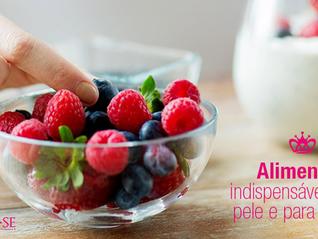 07 alimentos indispensáveis para a saúde da pele