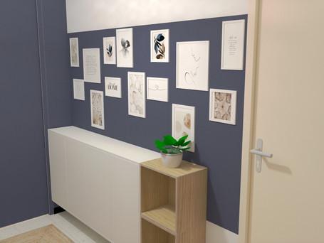 amenagement d'un couloir