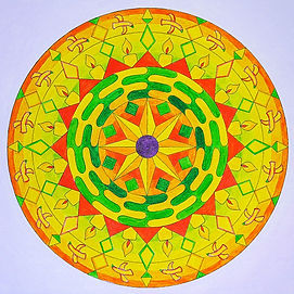 art therapie creation mandala