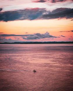Mega sunset at North head._._._._