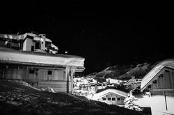 #blackandwhitephoto #stars #mountains #m