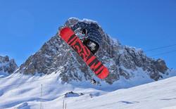 #air #boarding #snow #mountains #snowboa