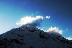 #sunshine #sunset #clouds #mountains #sh