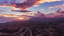 #sunset #sun #sky #orange #pink #clouds