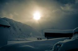#sun #clouds #snowstorm #mountains #jeep