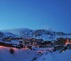 #mountain #mountaintown #streetlights #c