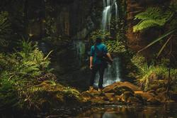 Mokoroa falls long exposure