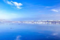 #reflection #clouds #bluesky #blue #beac