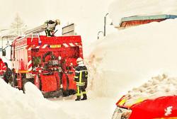#fire #firefighter #fireengine #snow #sn