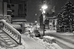 #canon #200d #night #snow #streets #cold