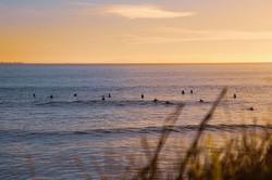 Surfers biding their time...