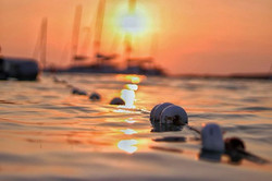 Sunset catamaran to formentara