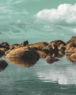 #reflection #newzealand #exploring #beac