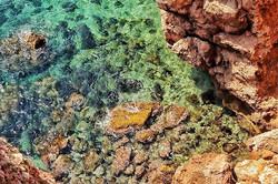 #savetheocean #ocean #cove #cliff #clear