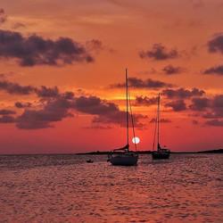 #sunset #sun #sky #orange #yellow #pink