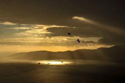 Sunset from Gibraltar._._._._