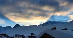 #shadows #sunset #mountains #mountaintow