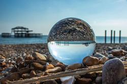#lensball #brighton #sea #savetheocean #