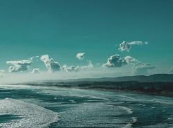 #bluesky #wave #power #clouds #mountains