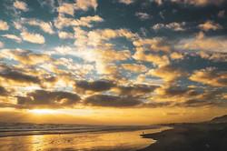 #sunset #sun #sky #orange #yellow #ocean
