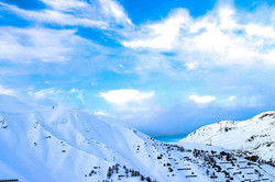 #blue #clouds #mountains #snow #canon #t