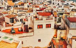 Loving old Ibiza Town