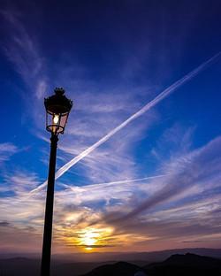 #sunset #sun #sky #bluesky #clouds #natu
