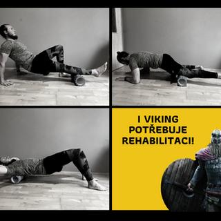 I Viking potřebuje rehabilitaci!