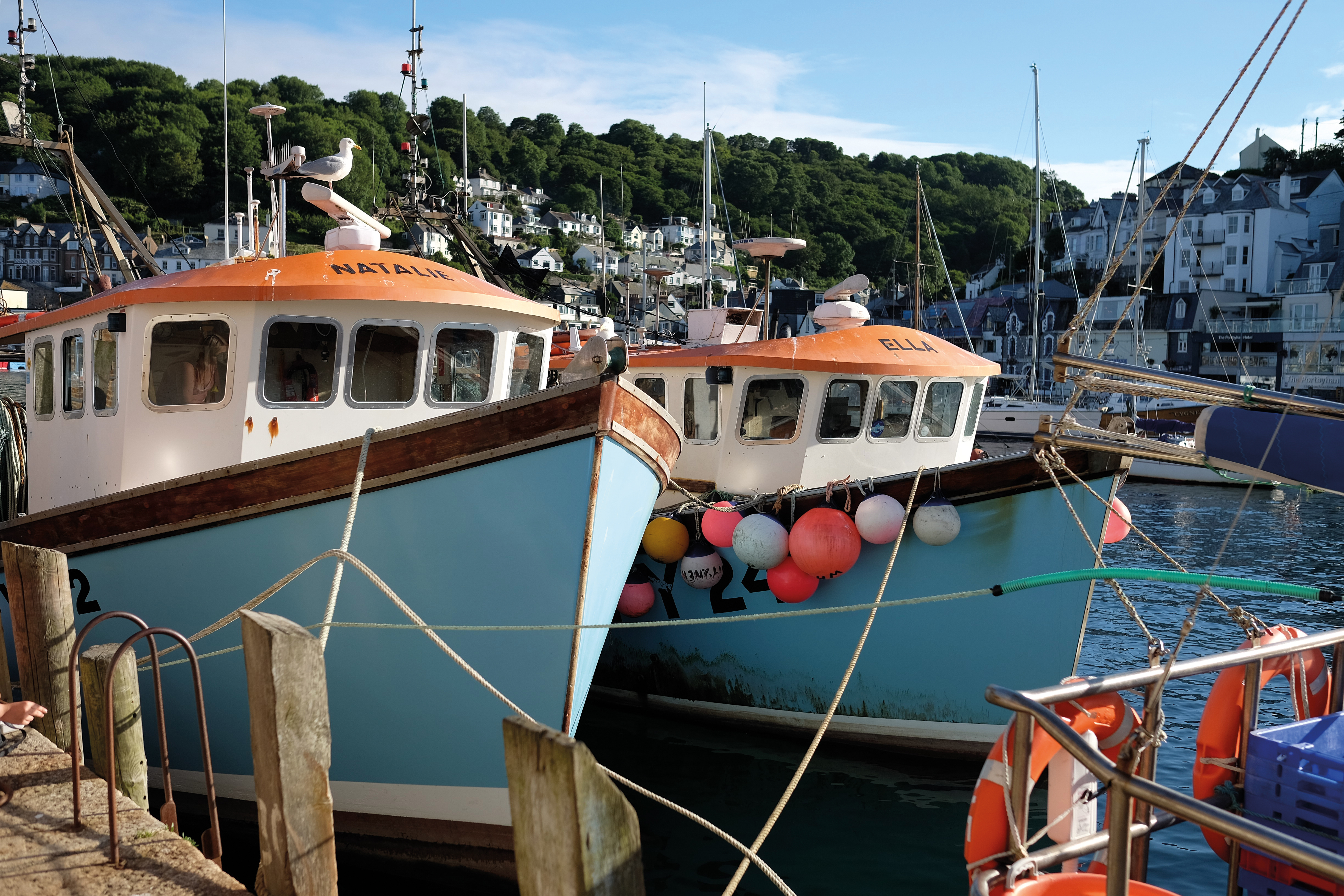 two trawlers