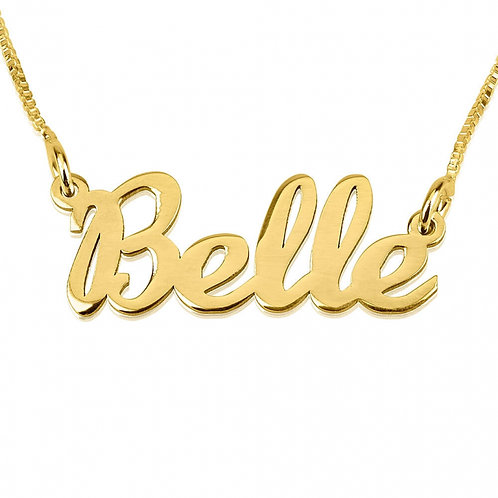 Belle Style Name Plate
