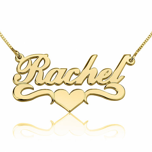 Love Style Name Plate