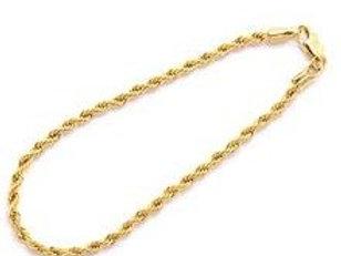 Gold Rope Anklet