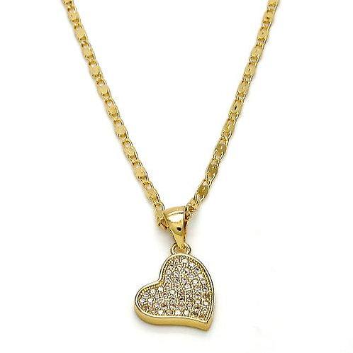 Micro Pave Heart
