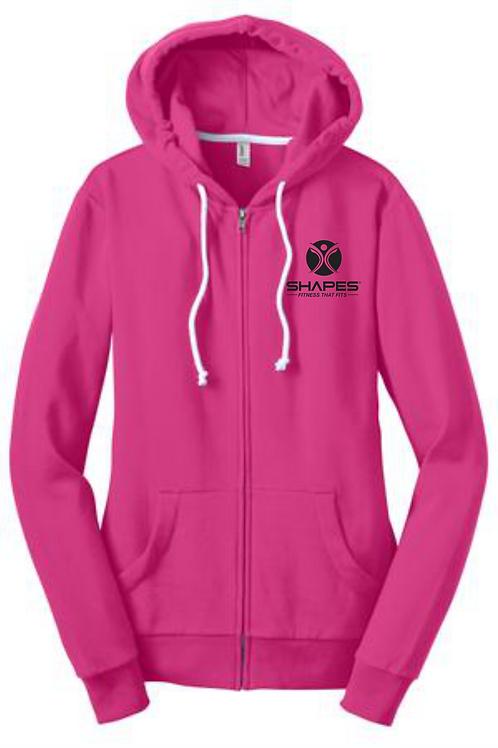 District - Core Fleece Full-Zip Hoodie