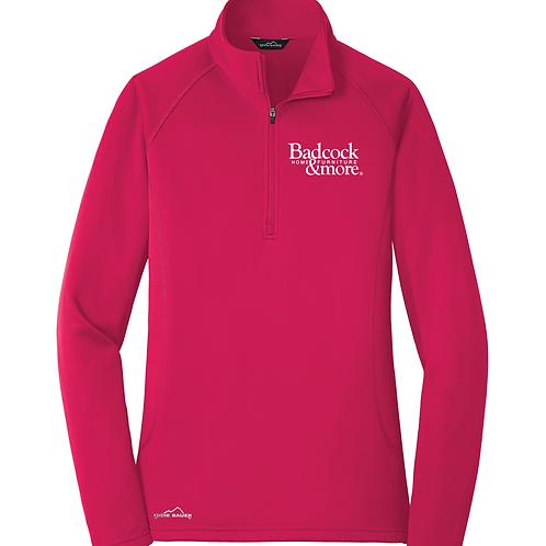 Ladies Half Zip Fleece Jacket EB237