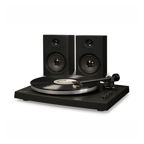 Black T-150 Turntable System w/ Bluetooth