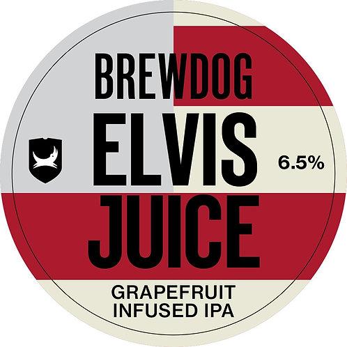 Half Gallon Fresh Brew Dog ELVIS JUICE