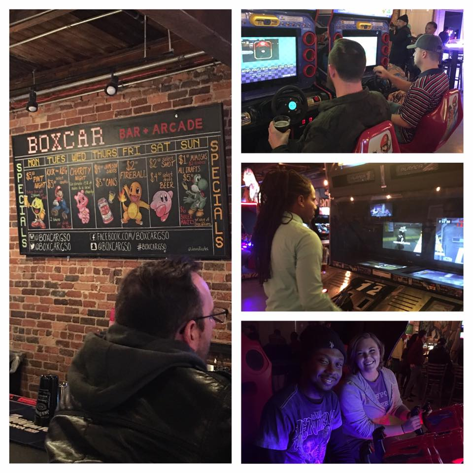 Team Night at Boxcar + Arcade