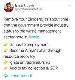 Till The Blind Can See & The Deaf Can Hear: Waste Management Business India
