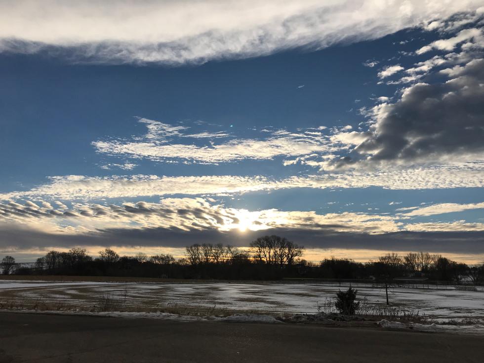 LVE Outside Winter Sunset.JPG